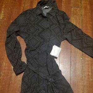 NWT lularoe small black ellie dress